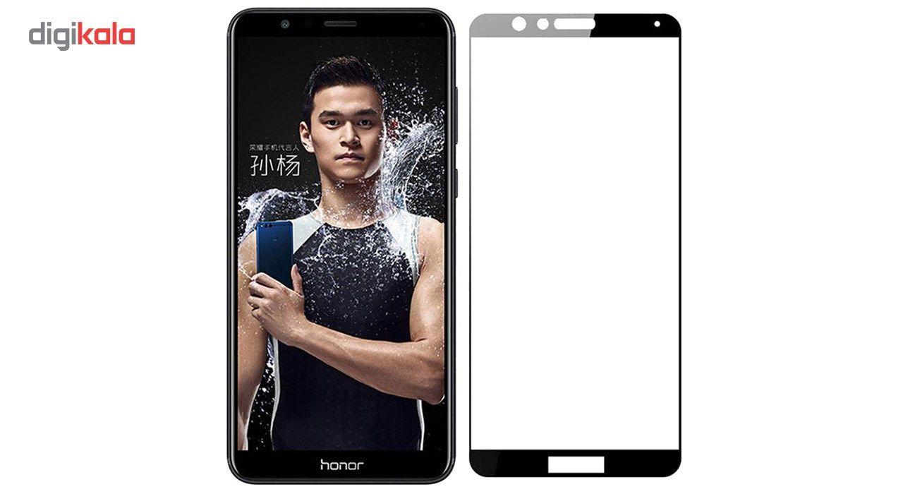 محافظ صفحه نمایش تمپرد مدل فول چسب مناسب برای گوشی موبایل هواوی Honor 7X main 1 1