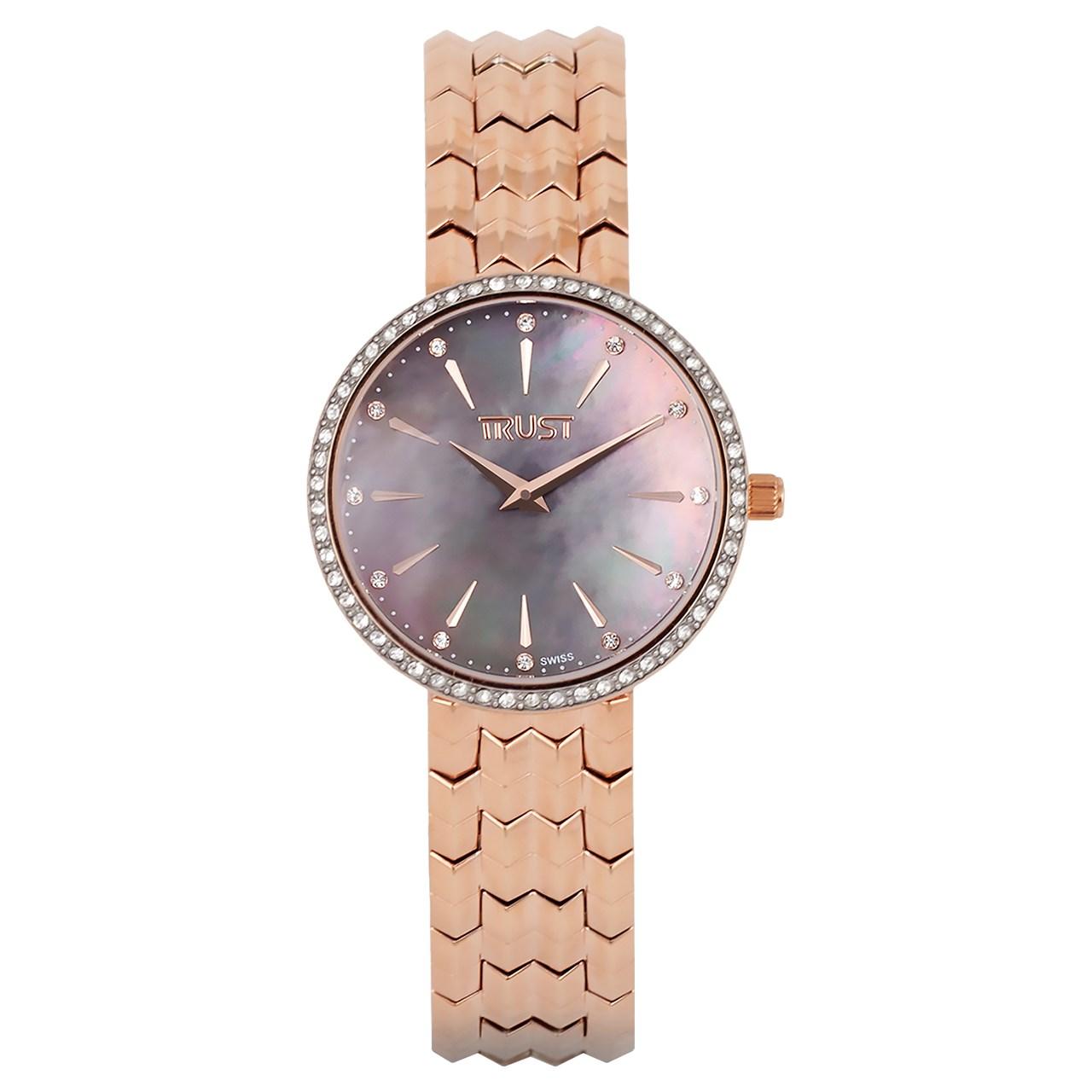 خرید ساعت مچی عقربه ای زنانه تراست مدل L451CXE