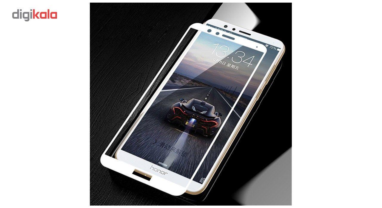محافظ صفحه نمایش تمپرد مدل فول چسب مناسب برای گوشی موبایل هواوی Honor 7X main 1 5