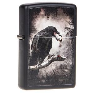 فندک زیپو مدل Goth Raven Eyeball کد 28434
