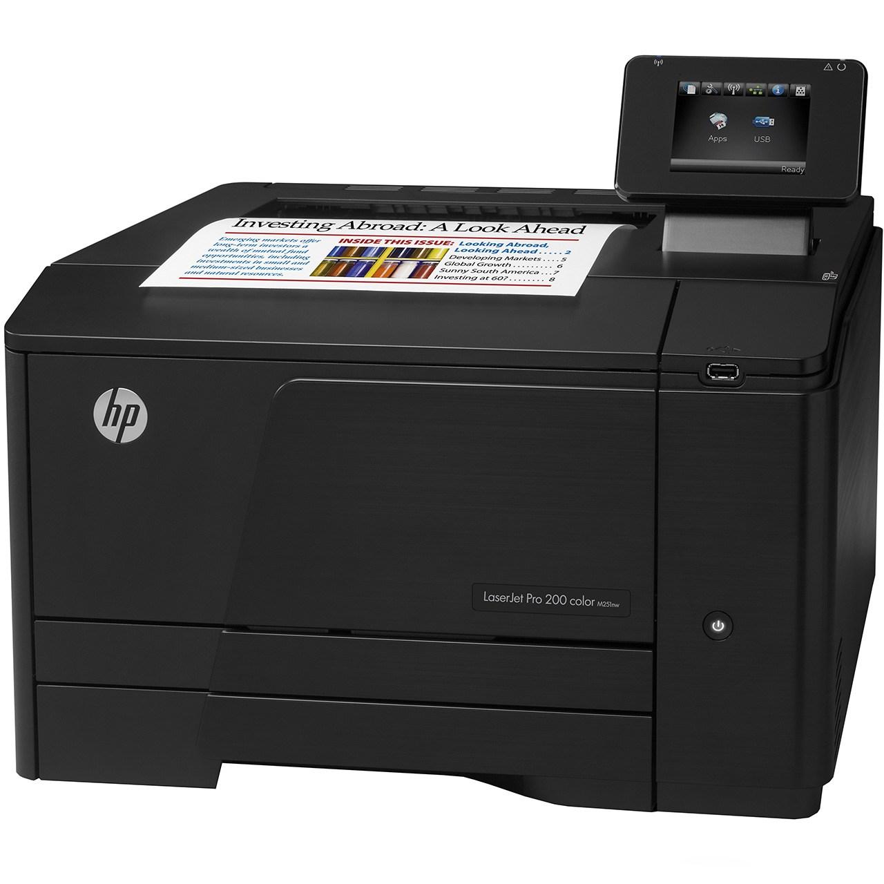 خرید پرینتر رنگی لیزری اچ پی مدل LaserJet Pro 200 M251nw