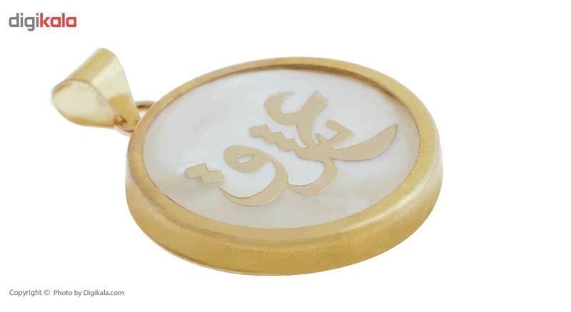 آویز گردنبند طلا 18 عیار ماهک مدل MM0684 - مایا ماهک