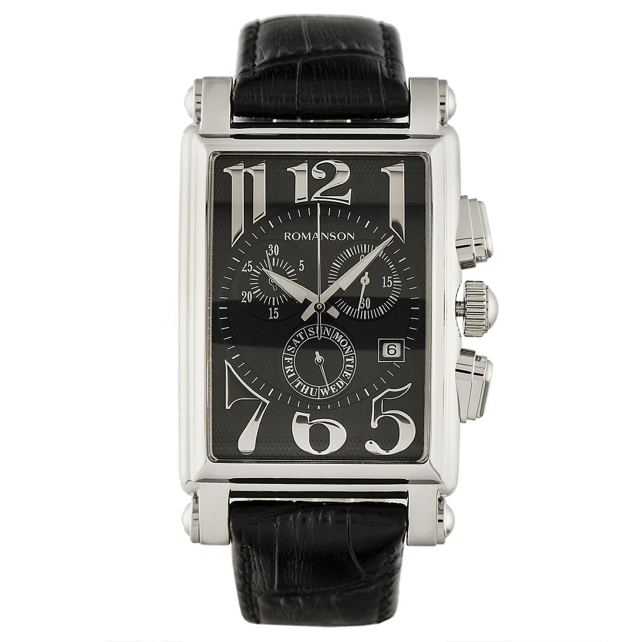 ساعت مچی عقربه ای مردانه رومانسون مدل TL6599HM1WA32W 31