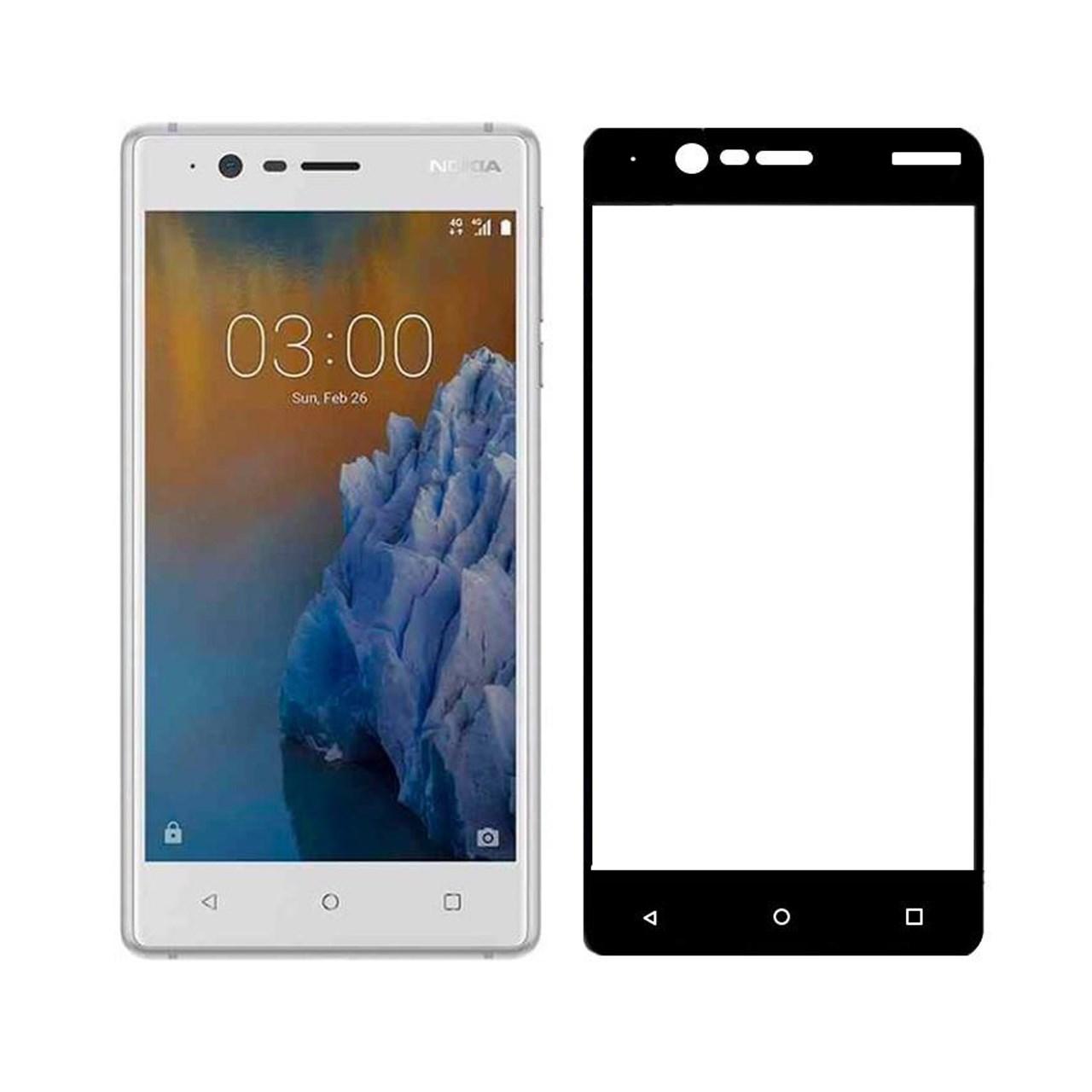 محافظ صفحه نمایش ریمو مدل Full Cover مناسب برای گوشی موبایل نوکیا 3