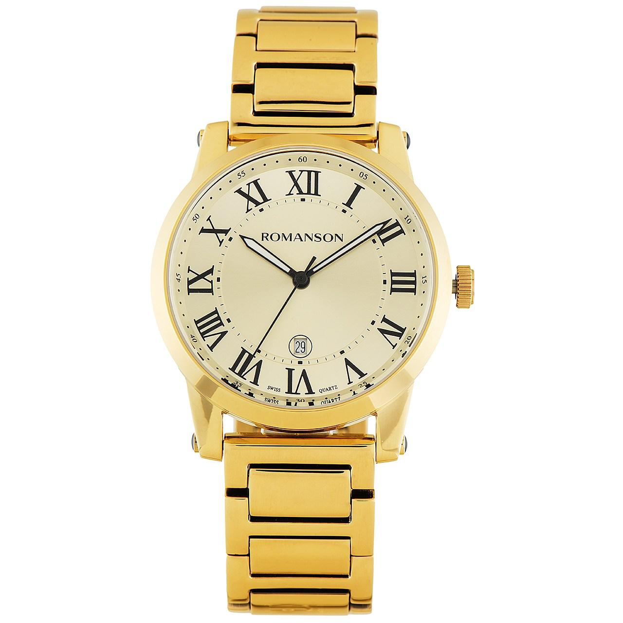ساعت مچی عقربه ای مردانه رومانسون مدل TM0334MM1GB85B