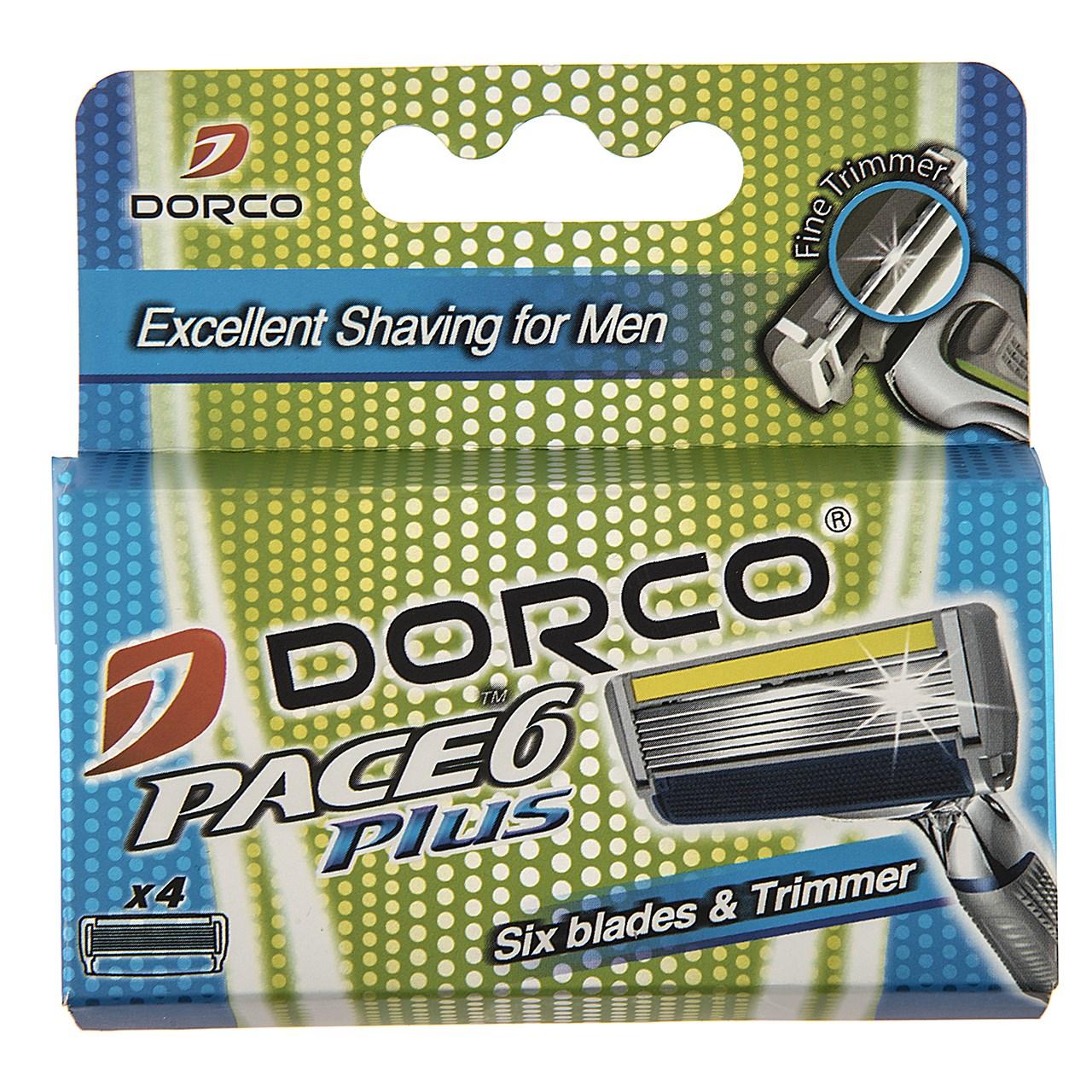 قیمت تیغ یدک 4 عددی دورکو مدل Pace 6