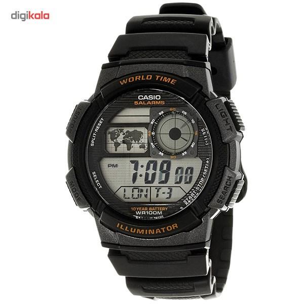 خرید ساعت مچی دیجیتالی مردانه کاسیو مدل AE-1000W-1AVDF | ساعت مچی