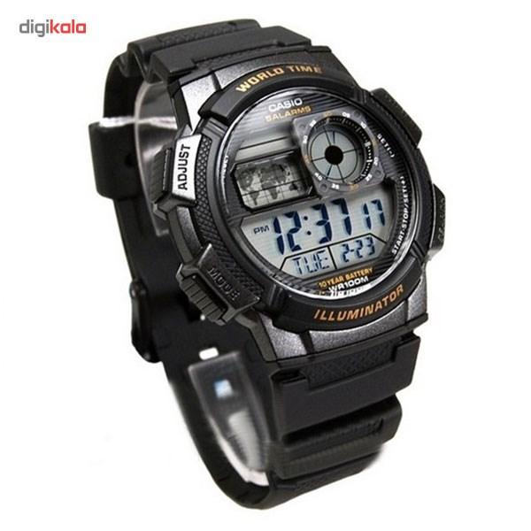 ساعت مچی دیجیتالی مردانه کاسیو مدل AE-1000W-1AVDF