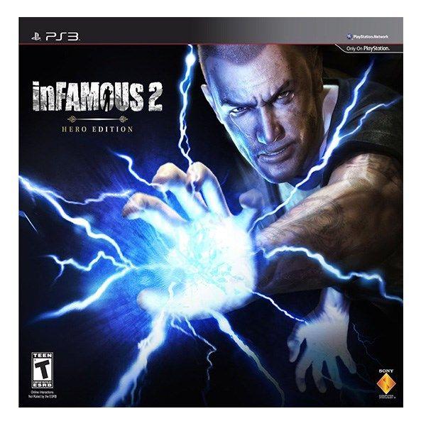 بازی پی اس تری Infamous 2 Special ED