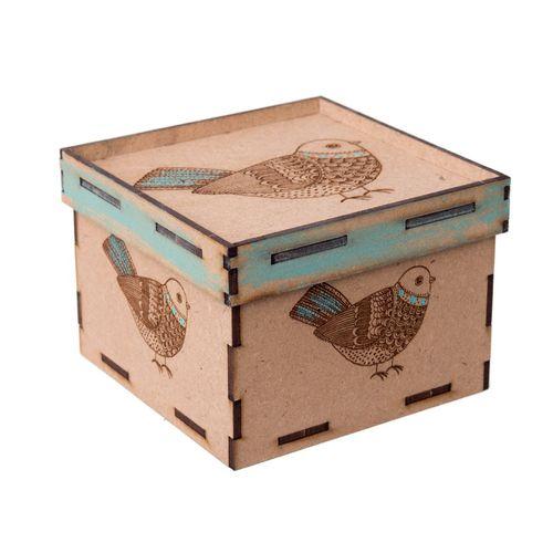 جعبه هدیه چوبی گالری نفیس کد NJ01