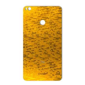 برچسب تزئینی ماهوت مدل  Gold-pixel Special مناسب برای گوشی Xiaomi Mi Max 2