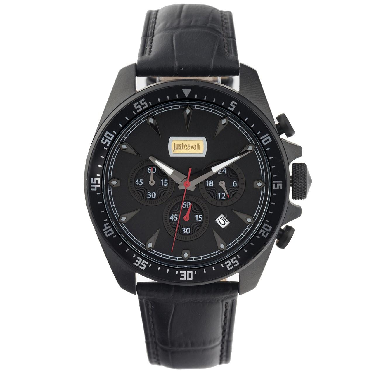 ساعت مچی عقربه ای مردانه جاست کاوالی مدل JC1G013L0035