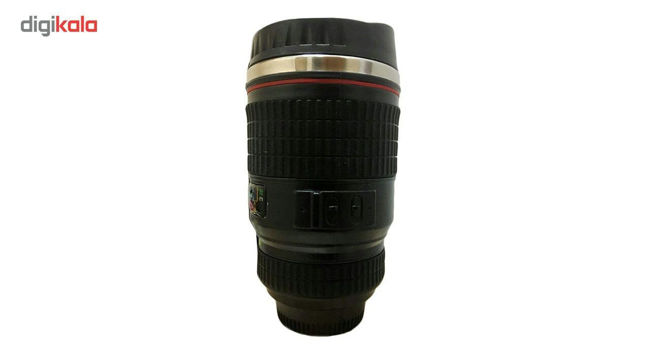ماگ گالری شروین  طرح لنز دوربین