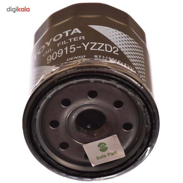 فیلتر روغن موتور تویوتا جنیون پارتس مدل YZZD2-90915 main 1 2
