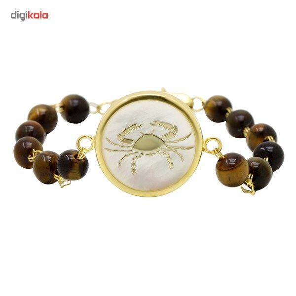 دستبند طلا 18 عیار ماهک مدل MB0116 - مایا ماهک -  - 1