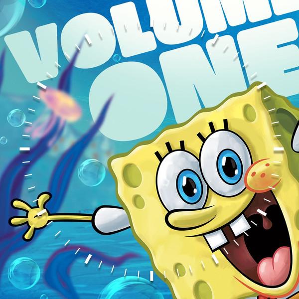ساعت دیواری ویولت دکور مدل Spongebob S3