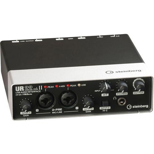 کارت صدای استودیو اشتاینبرگ مدل UR-22 MK2