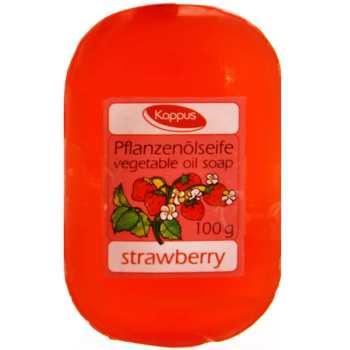 صابون گلیسرینه کاپوس مدل Strawberry مقدار 100 گرم