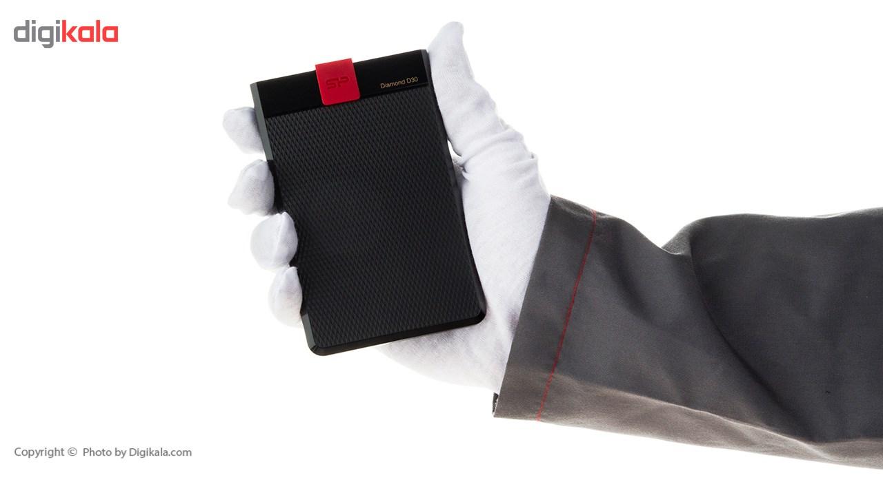 هارد دیسک اکسترنال سیلیکون پاور مدل D30 ظرفیت 1 ترابایت