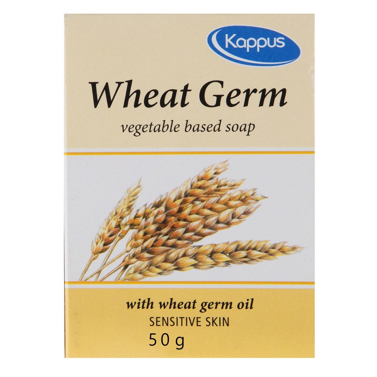 قیمت صابون کاپوس مدل Wheat Germ مقدار 50 گرم