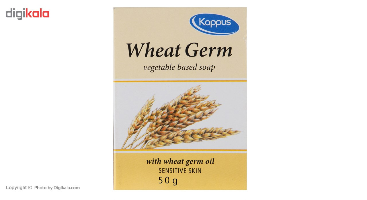 صابون کاپوس مدل Wheat Germ مقدار 50 گرم