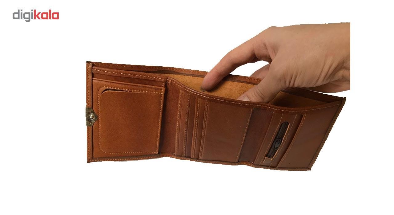 کیف پول چرم رایا مدل 103