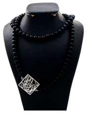 گردنبند نقره زنانه دلی جم طرح گر جان به جان من کنی جان و جهان کد D 56 -  - 2