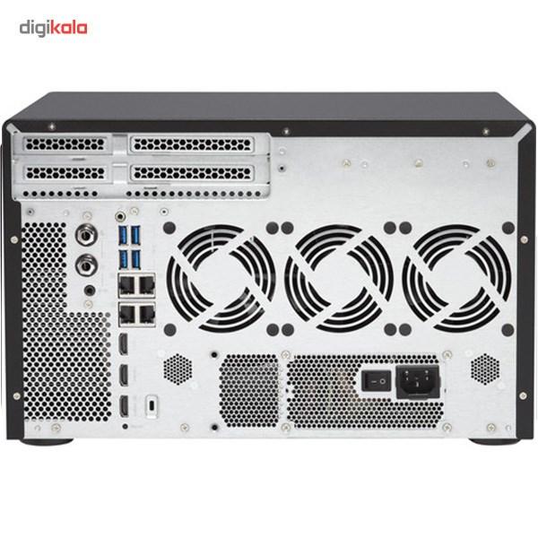 ذخیره ساز تحت شبکه کیونپ مدل TVS-1282-i3-8G بدون دیسک