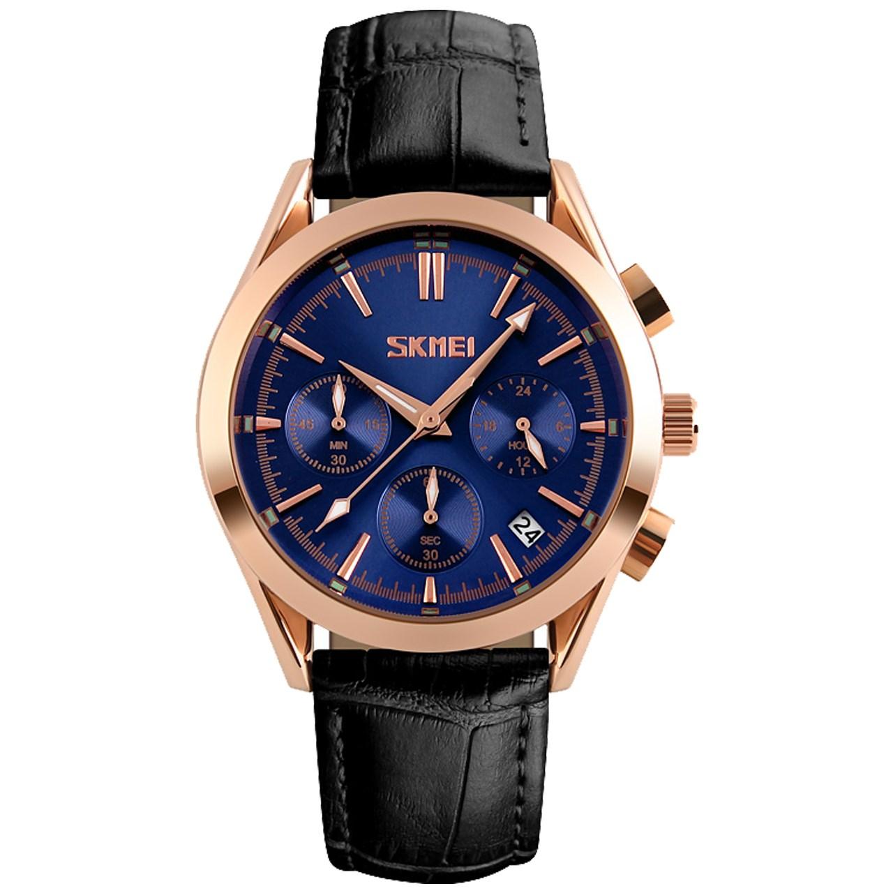ساعت مچی عقربه ای مردانه اسکمی مدل S9127/Blue              ارزان