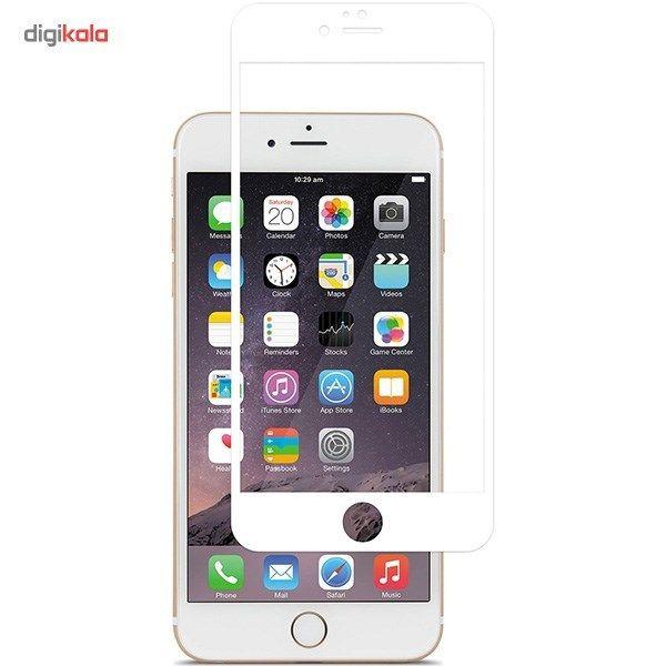 محافظ صفحه نمایش شیشه ای موکول مدل Full Cover مناسب برای گوشی موبایل آیفون 6/6s main 1 1
