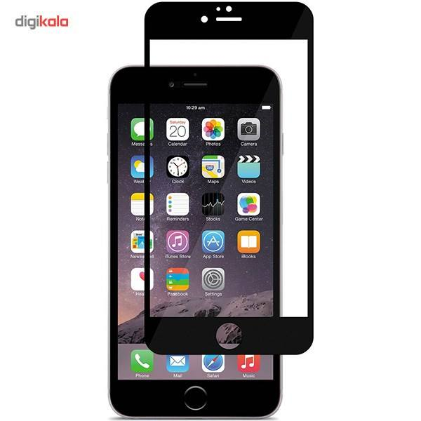 محافظ صفحه نمایش شیشه ای موکول مدل Full Cover مناسب برای گوشی موبایل آیفون 6/6s main 1 2