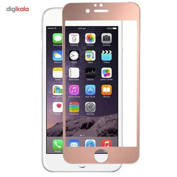 محافظ صفحه نمایش شیشه ای موکول مدل Full Cover مناسب برای گوشی موبایل آیفون 6/6s main 1 3