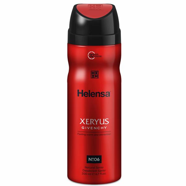 اسپری آقایان هلنسا مدل Xeryus Givenchy حجم 200 میلی لیتر