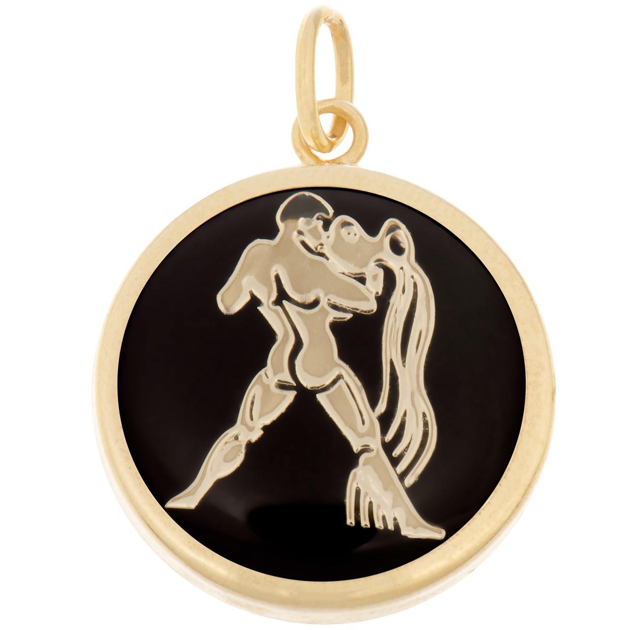 آویز گردنبند طلا 18 عیار ماهک مدل MM0335 - مایا ماهک