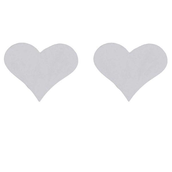 گوشواره نقره زنانه آی ام مدل قلب