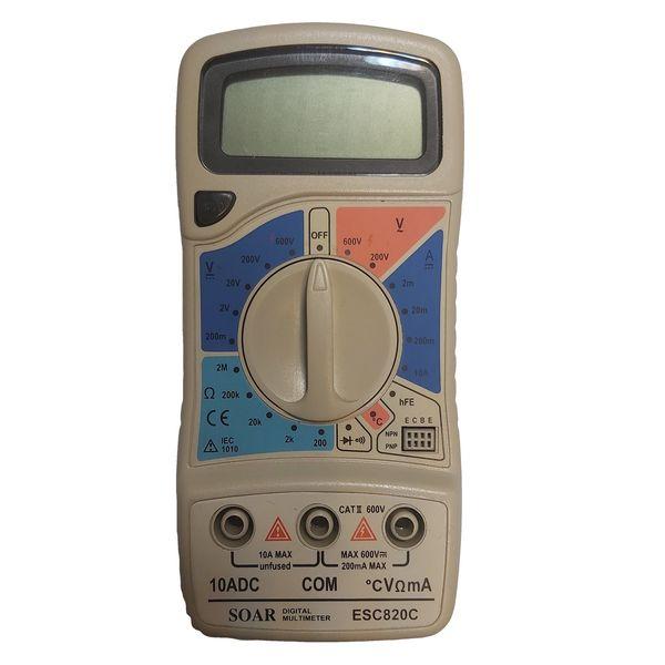 مولتی متر دیجیتال سوآر مدل DT-820C