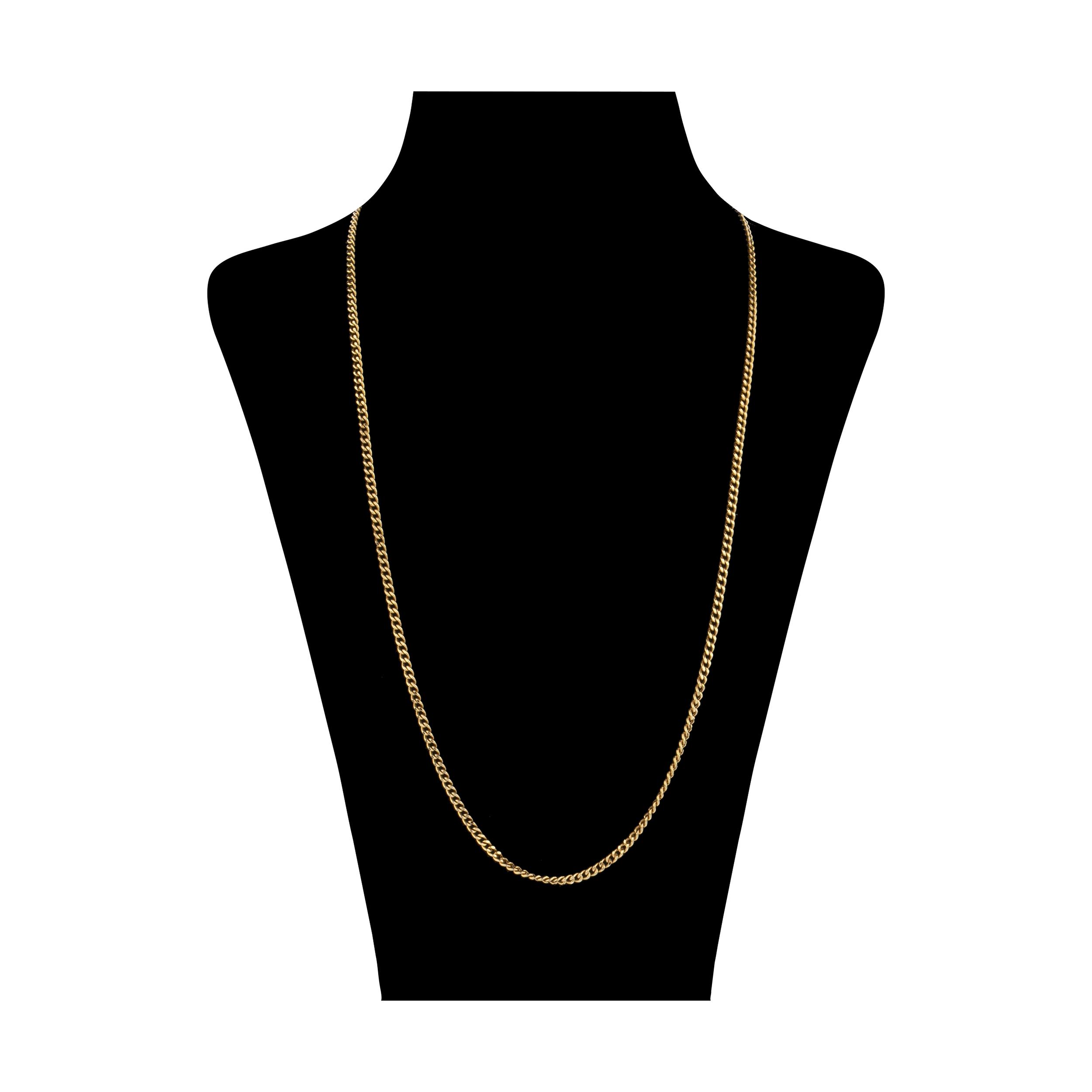 زنجیر طلا 18 عیار زنانه مایا ماهک مدل MM1074