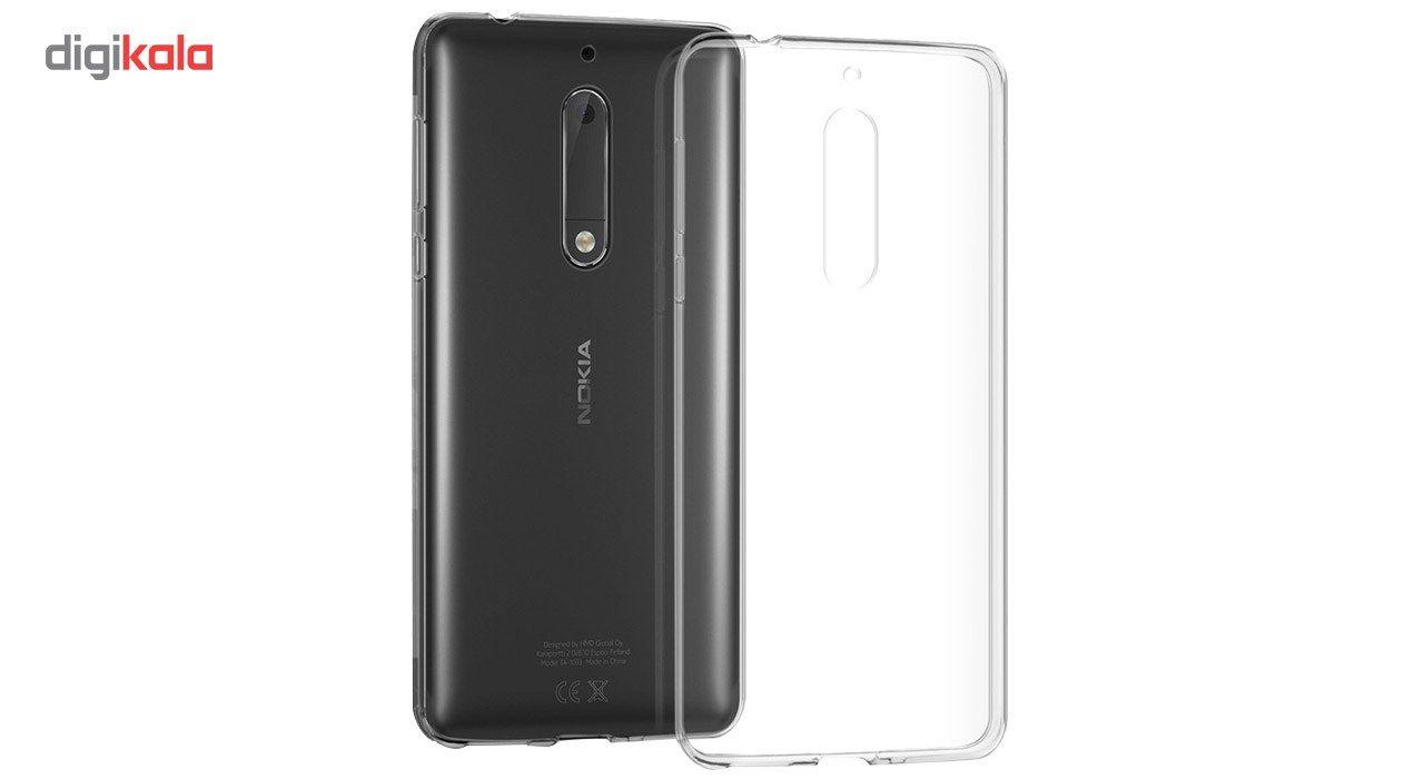 کاور مدل ClearJelly مناسب برای گوشی موبایل نوکیا 5 main 1 1
