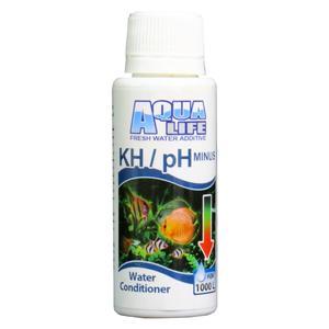 محلول کاهنده KH/PH آب آکواریوم آکوالایف حجم 100 میلی لیتر