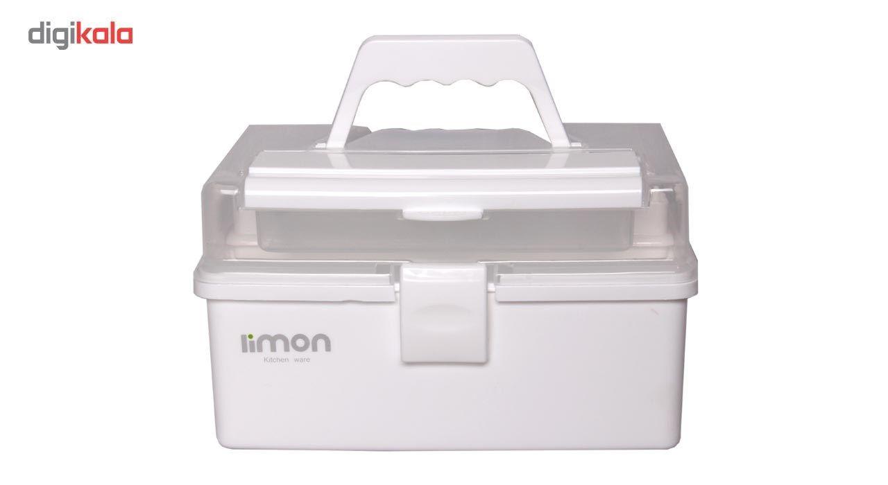 جعبه لوازم خیاطی لیمون کد ML17-3 main 1 2