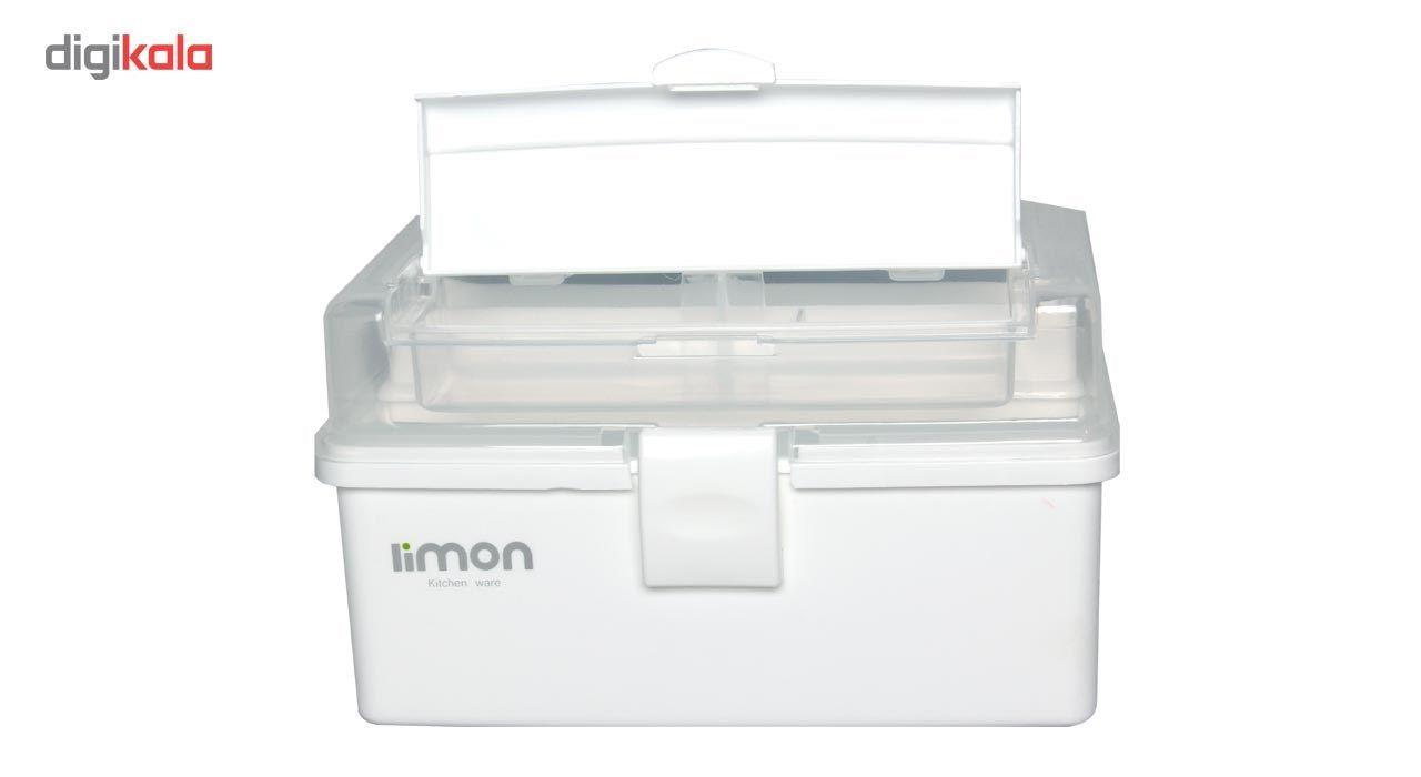 جعبه لوازم خیاطی لیمون کد ML17-3 main 1 3