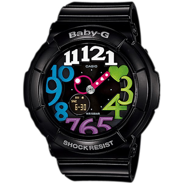 ساعت مچی زنانه کاسیو BGA-131-1B2DR 34