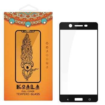 محافظ صفحه نمایش شیشه ای کوالا مدل Full Cover مناسب برای گوشی موبایل نوکیا 5