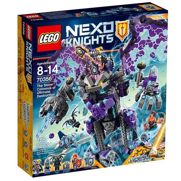لگو سری Nexo Knights مدل The Stone Colossus Of Ultimate Destruction 70356