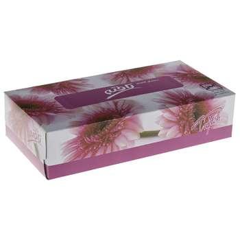 دستمال کاغذی 100 برگ تافته مدل Pink Zherory