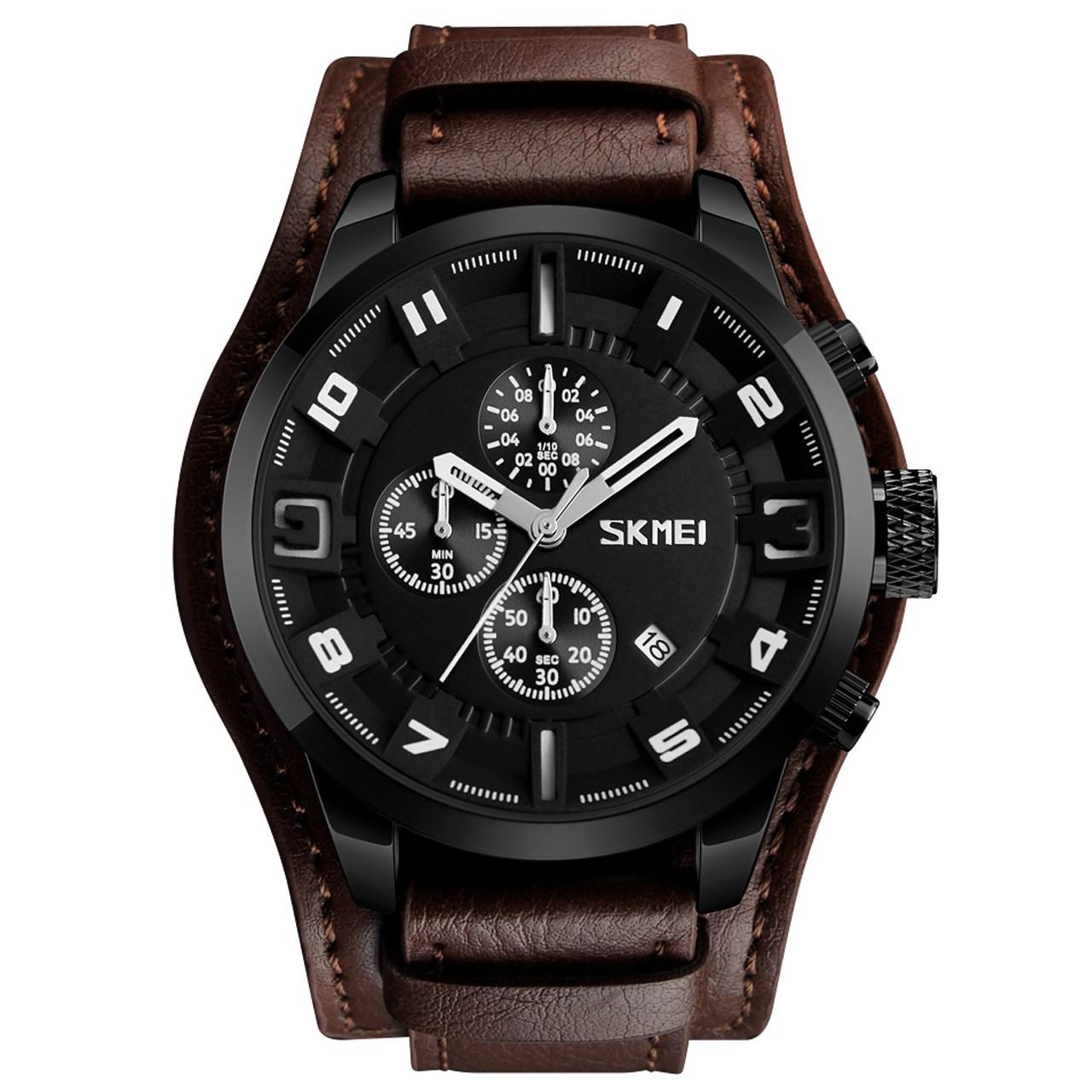 ساعت مچی عقربه ای مردانه اسکمی مدل 9165 کد 01
