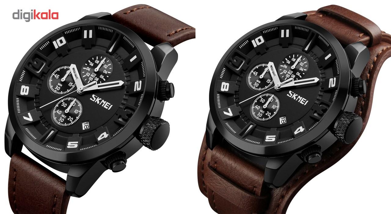 خرید ساعت مچی عقربه ای مردانه اسکمی مدل 9165 کد 01