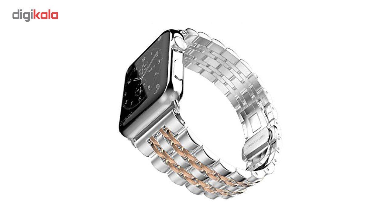 بند فلزی سومگ مدل ROLEX مناسب برای اپل واچ 42 میلی متری main 1 5