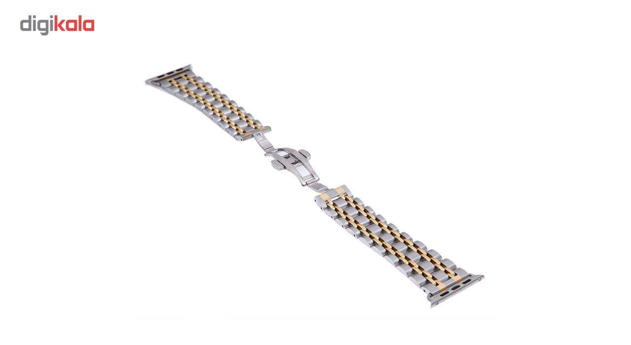 بند فلزی سومگ مدل ROLEX مناسب برای اپل واچ 42 میلی متری main 1 8