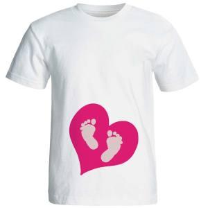 تیشرت بارداری نوین نقش طرحp542